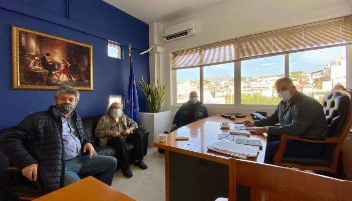 Η αναβάθμιση του δημοτικού σκοπευτηρίου Ζαρού στο επίκεντρο συνάντησης