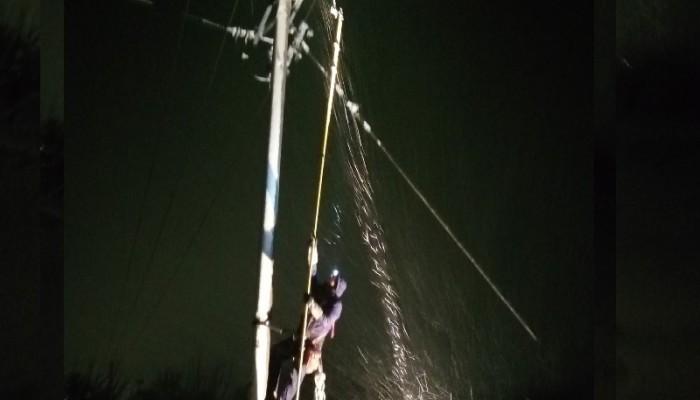 Δύσκολη νύχτα για πολλούς ανθρώπους λόγω διακοπών στην ηλεκτροδότηση