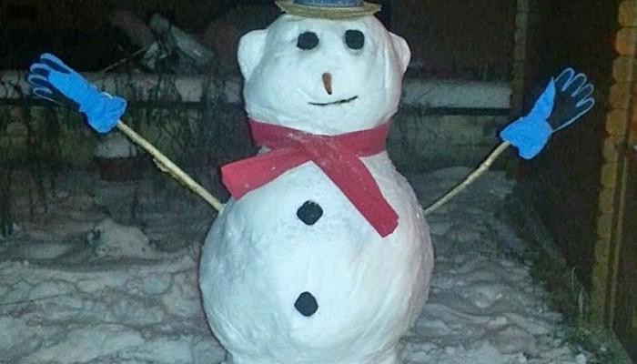 Χανιώτης πουλάει στο διαδίκτυο... χιονάνθρωπο και γίνεται viral (φωτο)