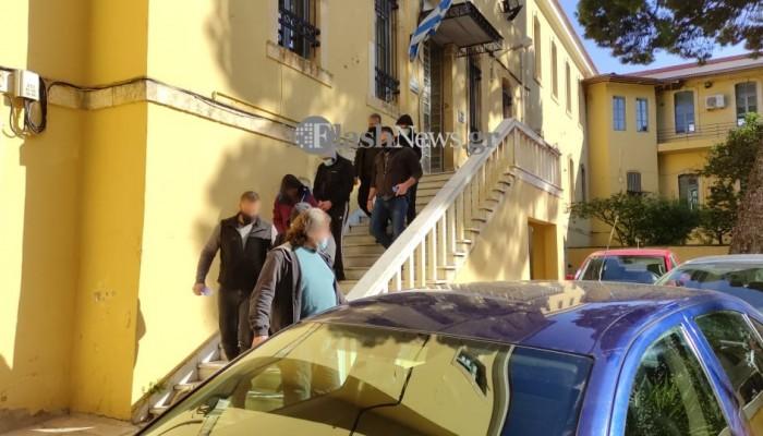 Στον εισαγγελέα οι συλληφθέντες για το αιματηρό επεισόδιο στα Χανιά (φωτο)