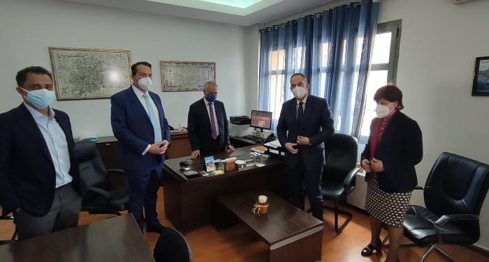 Στον ΟΛΗ ο Υπουργός Ναυτιλίας Γιάννης Πλακιωτάκης