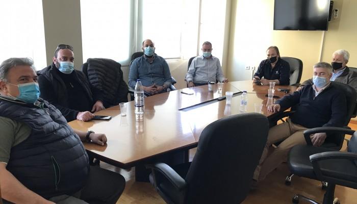 Συνάντηση Επιμελητηρίου Χανίων και Συλλόγου Ιδιοκτητών Τουριστικών Λεωφορείων Δ. Κρήτης