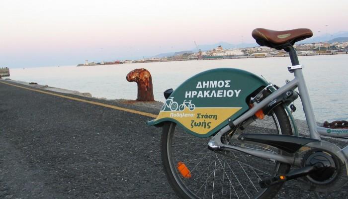Επανεκκίνηση για την δωρεάν διάθεση ποδηλάτων από τον Δήμο Ηρακλείου