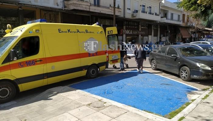 Χανιά: Στο νοσοκομείο μία κοπέλα μετά από τροχαίο (φωτο)