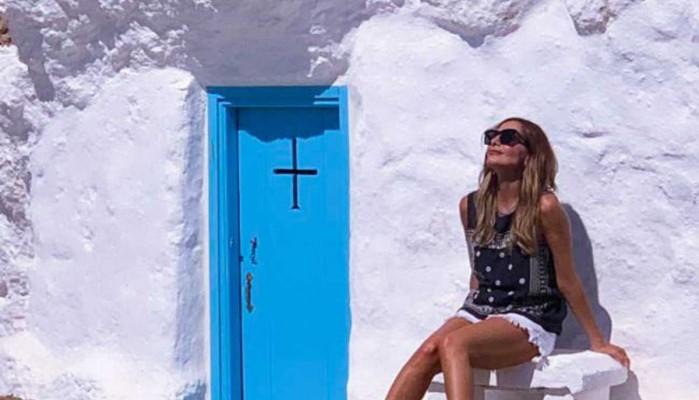 Χώρισε για να είναι μαζί της - Ερωτικό τριήμερο για την Δέσποινα Βανδή στην Κρήτη