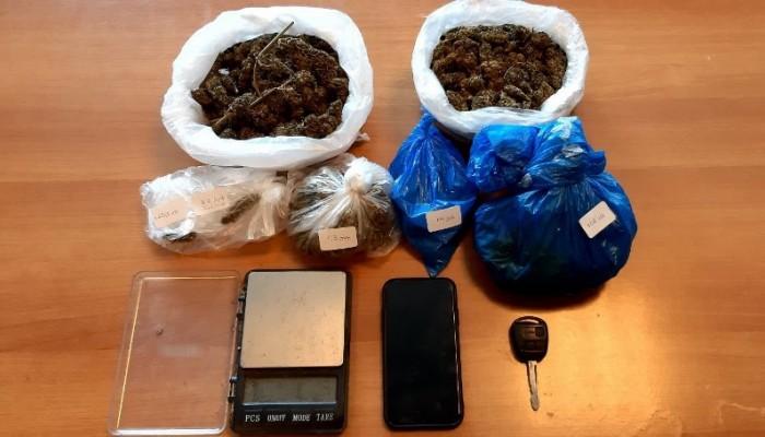 Η «καβάτζα» των ναρκωτικών ήταν σε εγκαταλειμμένο κτίριο του Ηρακλείου (φωτο)