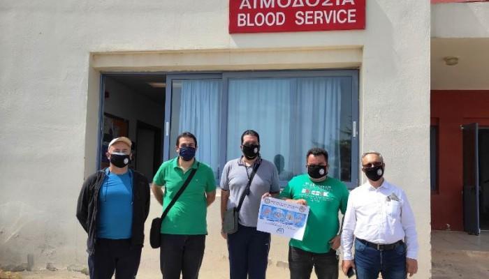 Εθελοντική αιμοδοσία από το τμήμα Χανίων της ΑΧΕΠΑ (φωτο)