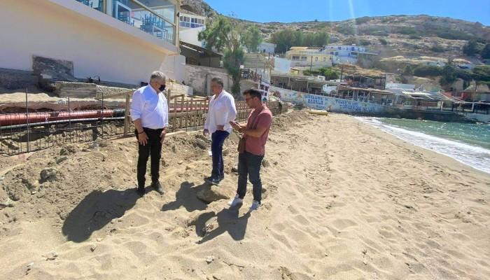 Αντίστροφη μέτρηση στις παραλίες του Δήμου Φαιστού