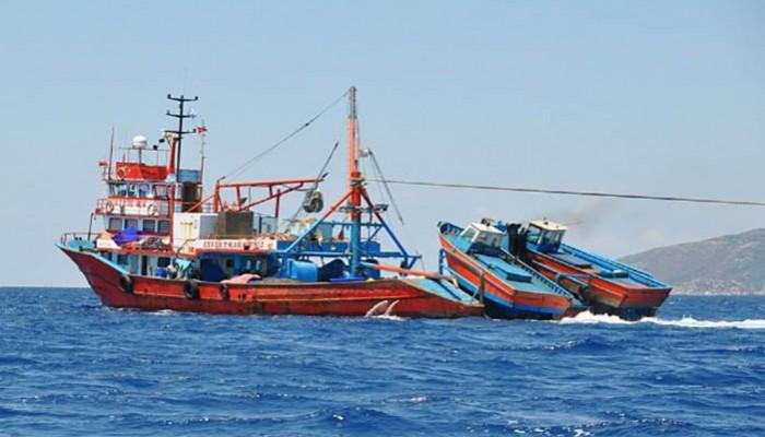 Στη Μάλτα για αλίευση κατευθύνονταν τα τουρκικά αλιευτικά που εντοπίστηκαν στη Γαύδο