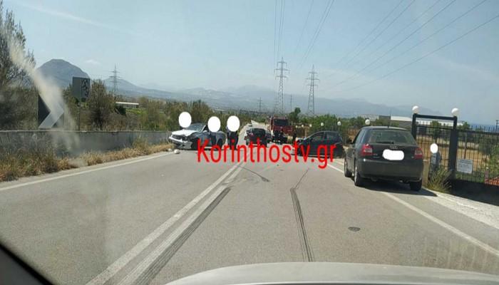 Κόρινθος: Σοβαρό τροχαίο κοντά στο πεδίο βολής