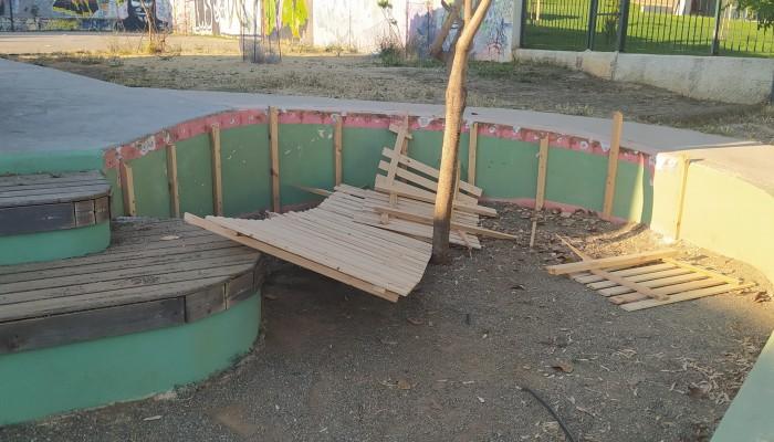 Βανδαλισμοί σε δημοτικό σχολείο στα Χανιά - Επαναλαμβανόμενο το φαινόμενο (φωτο)