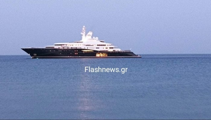 Αιχμαλώτισε τα βλέμματα - Στην Παλαιόχωρα μια από τις ακριβότερες θαλαμηγούς του κόσμου!