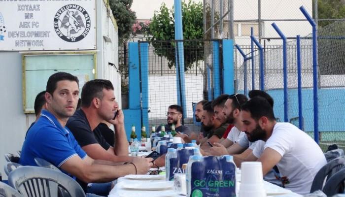 Αποχαιρετιστήριο δείπνο και εορταστικό διπλό για Αρη Σούδας