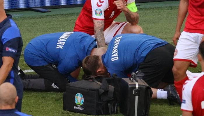 Euro 2020:Ανέκτησε τις αισθήσεις του ο Έρικσεν -Η στιγμή της κατάρρευσης στο γήπεδο! (vid)