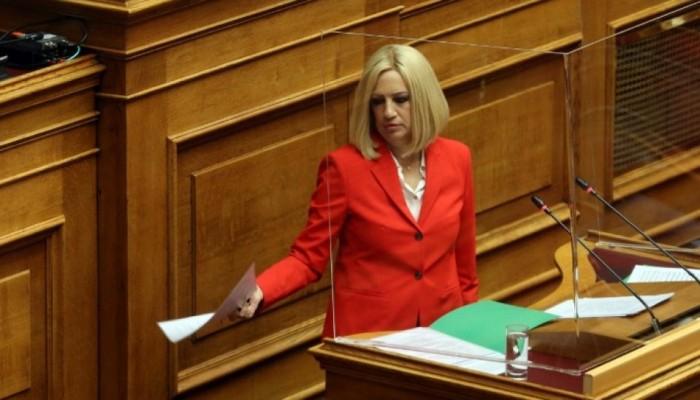Φ. Γεννηματά στη Βουλή για το εργασιακό: Πάμε ολοταχώς προς τα πίσω
