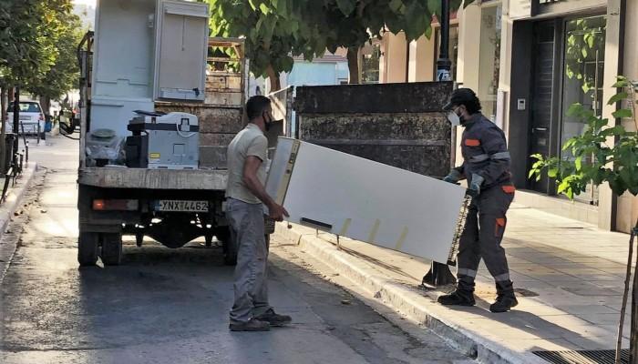 Χανιά: Σχεδόν 4.5 τόνους ηλεκτρικά απόβλητα συγκέντρωσαν με το σύστημα «πόρτα-πόρτα»