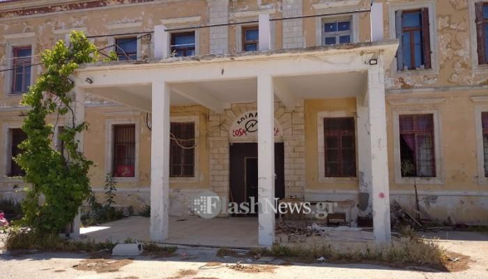 Aνακατάληψη από την Rosa Nera στο κτίριο στην παλιά πόλη Χανίων (φωτο)