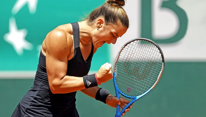 Roland Garros: Έγραψε ιστορία η Μαρία Σάκκαρη - Προκρίθηκε στις