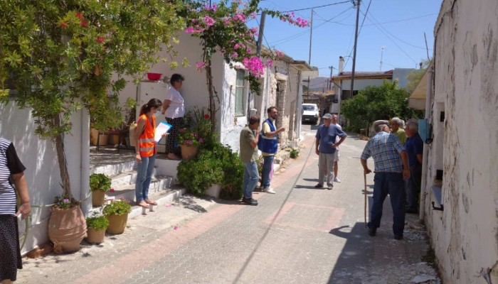 Δήμος Μινώα Πεδιάδας: Έλεγχος κτιρίων που υπέστησαν ζημιές από το σεισμό