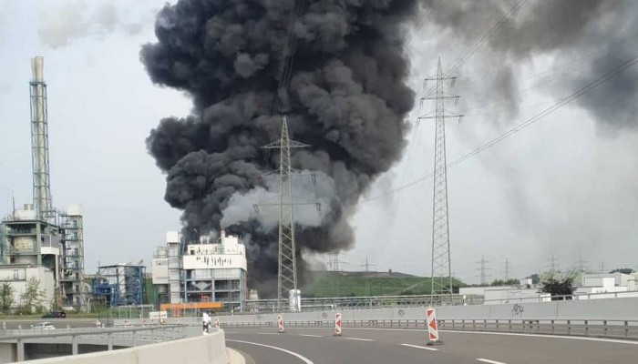 Έκρηξη σε εγκαταστάσεις με χημικά στο Λεβερκούζεν της Γερμανίας