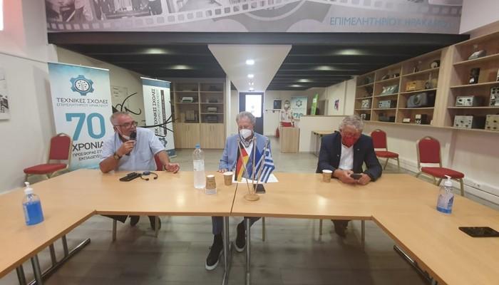 Επίσκεψη του Εντεταλμένου της Ελληνογερμανικής συνέλευσης, κ. Νόρμπερτ Μπάρτλε στην Κρήτη