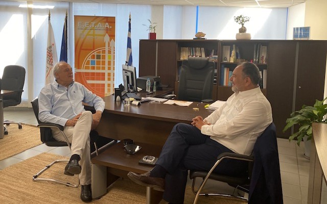 Συνεργασία ΕΕΤΑΑ  - ΠΕΔ Κρήτης