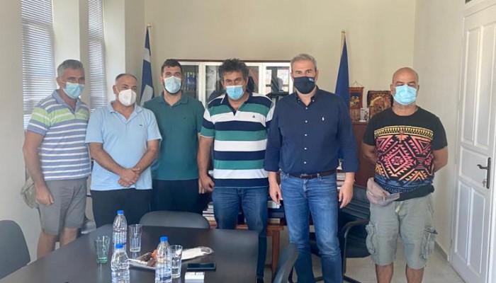 Επίσκεψη του Γενικού Γραμματέα του ΕΟΤ Δημήτρη Φραγκάκη στην Παλαιόχωρα