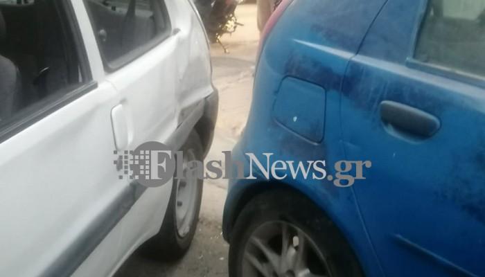 Χανιά: Σφοδρή σύγκρουση δύο οχημάτων! Ένα άτομο στο Νοσοκομείο (φωτο)