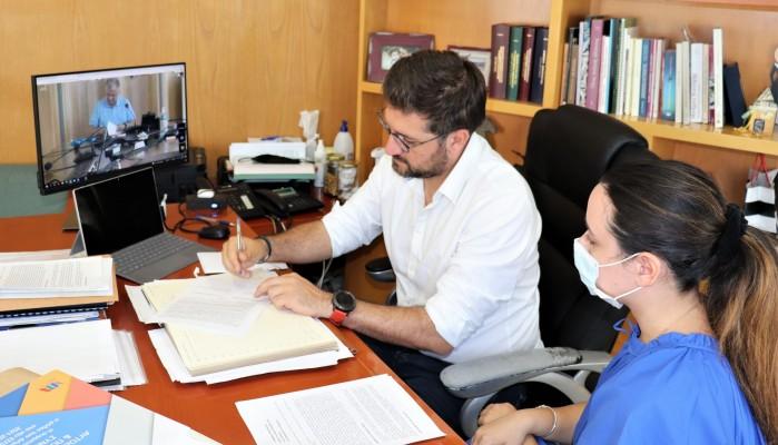 Το Σύμφωνο Συνεργασίας με το Χαμόγελο του Παιδιού υπέγραψε ο Δήμαρχος Μαλεβιζίου Μενέλαος
