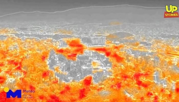 Καύσωνας: «Έκαψαν» τα τσιμέντα και τα μάρμαρα στην Αθήνα (βίντεο)
