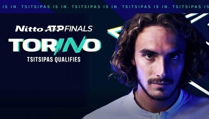 Προκρίθηκε στο ATP Finals ο Στέφανος Τσιτσιπάς που έρχεται Κρήτη για τα ματς της Εθνικής