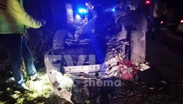 Θρήνος για δύο νεαρούς που χάθηκαν σε τροχαίο - Κατέληξε και ο οδηγός του αυτοκινήτου