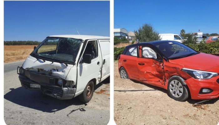 Σοβαρό ατύχημα στις Μοίρες - Σε σοβαρή κατάσταση είναι μια γυναίκα