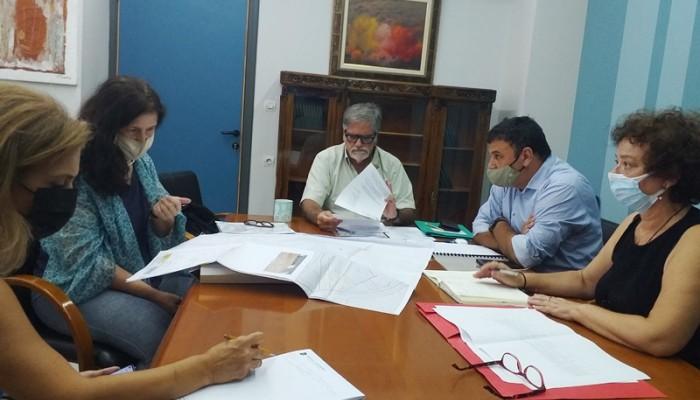 Σύσκεψη στον Δήμο Αγίου Νικολάου για το Κέντρο Αποκατάστασης Αποθεραπείας Νεάπολης