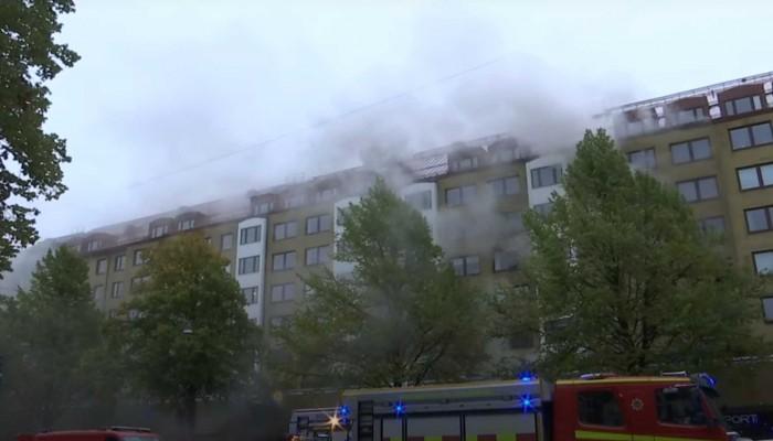 Γκέτεμποργκ: Έκρηξη σε πολυκατοικία – Πάνω από 20 τραυματίες (βιντεο)