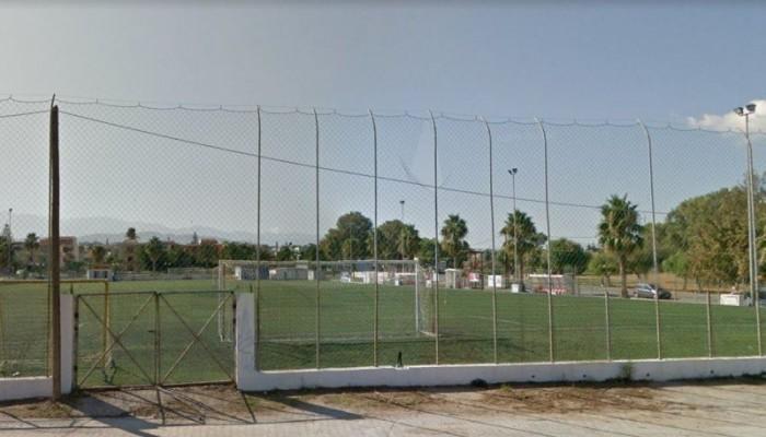 Μαύρο σκοτάδι στο γήπεδο των Αγίων Αποστόλων (φωτο)