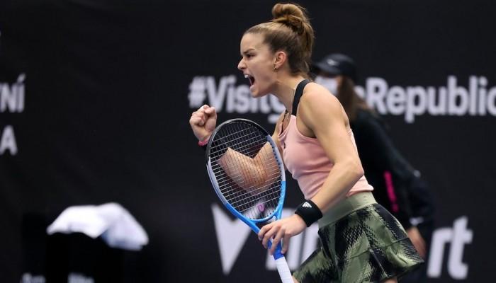 Τρομερή η Σάκκαρη: Προκρίθηκε στον τελικό του Ostrava Open