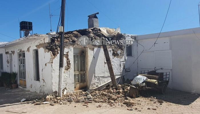 Σεισμός Κρήτη: Μεγάλη αστυνομική επιτήρηση στο Αρκαλοχώρι υπό τον φόβο