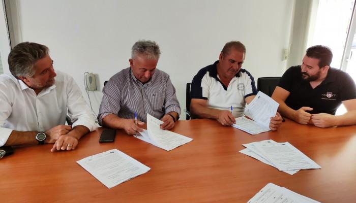 Υπογραφή σύμβασης για νέα δίκτυα ύδρευσης στο Μάραθο
