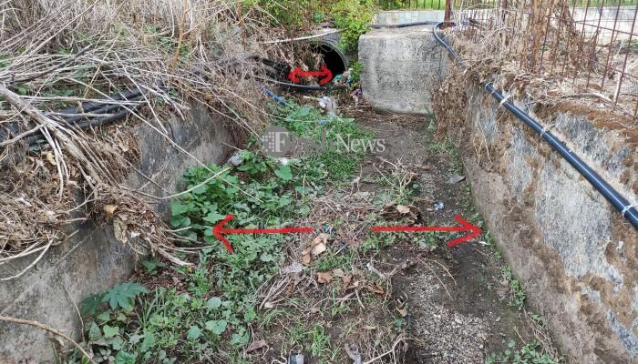 Δρομολογείται αντιπλημμυρικό έργο για το καταπατημένο χαντάκι που υπερχειλίζει