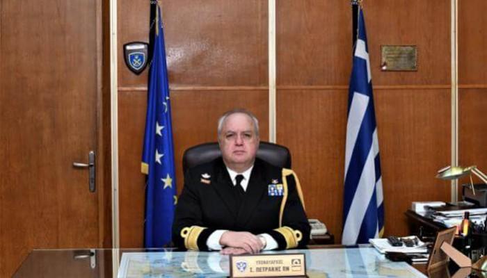 Ο Ρεθυμνιώτης Στέλιος Πετράκης είναι ο νέος Αρχηγός Στόλου