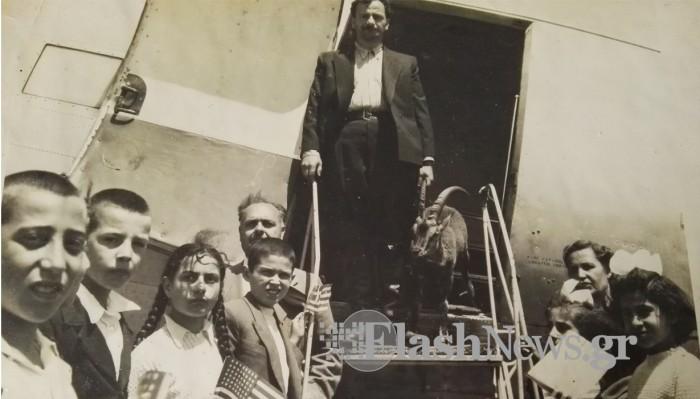 Ο Χανιώτης, το αγρίμι που παρέλασε στην Αθήνα και το ταξίδι τους στις ΗΠΑ