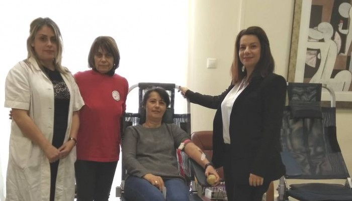Ολοκληρώθηκε η εθελοντική αιμοδοσία στο Δημαρχείο Χανίων (φωτο)