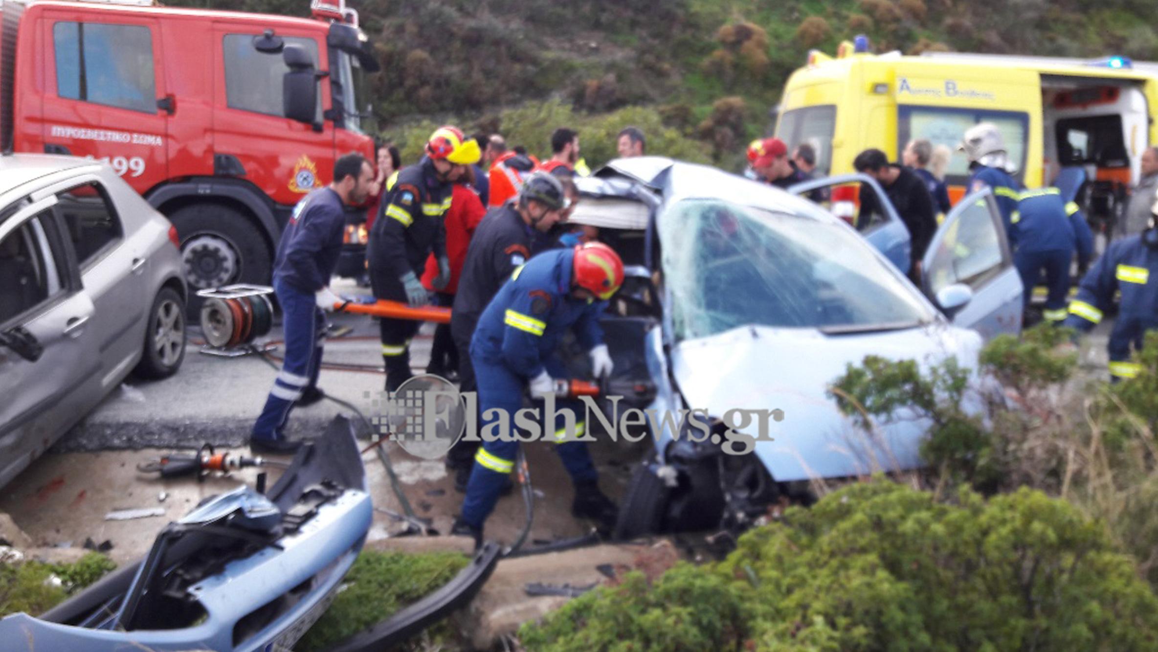Πολύνεκρο τροχαίο δυστύχημα στον ΒΟΑΚ - Flashnews.gr a478eb40e63