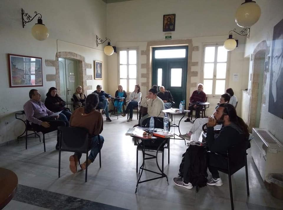 0139af3518 Επίσκεψη στους εργαζομένους της ΔΕΗ και στο δημοτικό γηροκομείο από την  Ανταρσία στα Χανιά