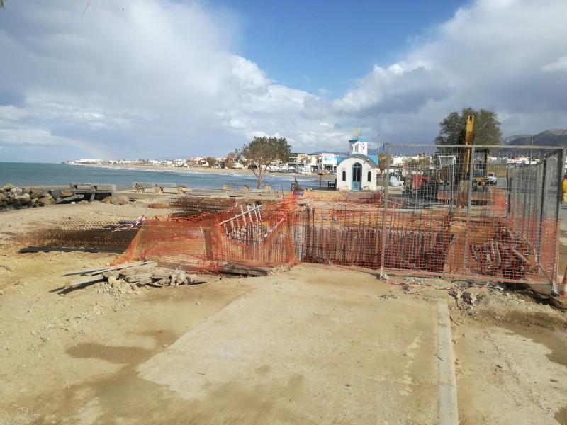a7078eac0001 Νίκος Αργυράκη η παραλία ήταν η μοναδική επιλογή για την κατασκευή του  έργου καθώς οι βιολογικοί καθαρισμοί πρέπει να λειτουργούν