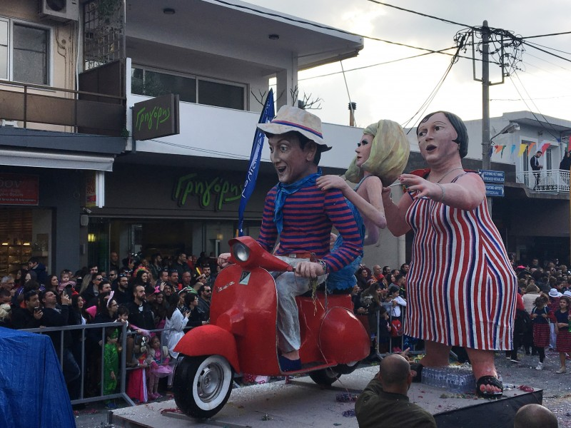 Масленичный карнавал 2019 в Ханье, район Суда
