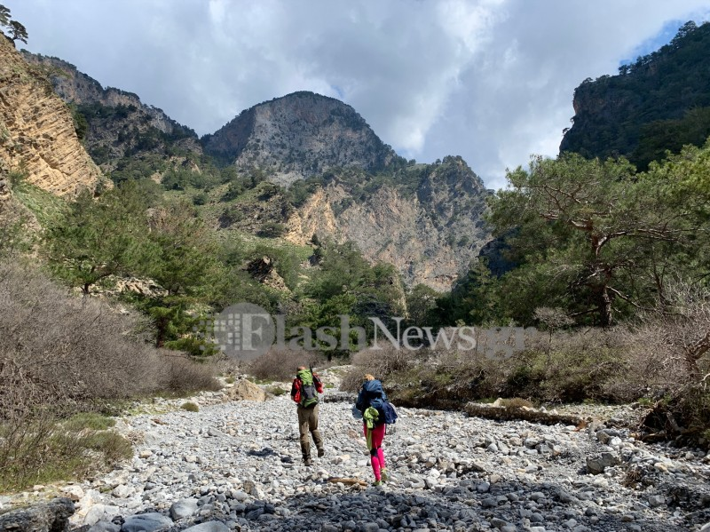 Searching for a missing person in the Tripiti Gorge