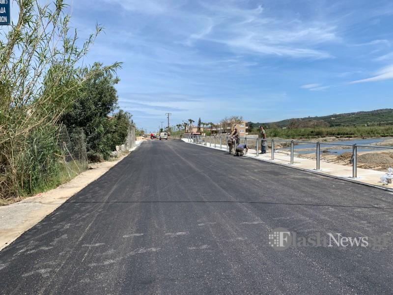 В посёлке Платаньяс открыли мост после ремонта