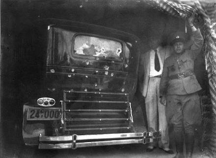 venizelos-car-bullets43457 Η δολοφονική απόπειρα κατά του Ελευθερίου Βενιζέλου